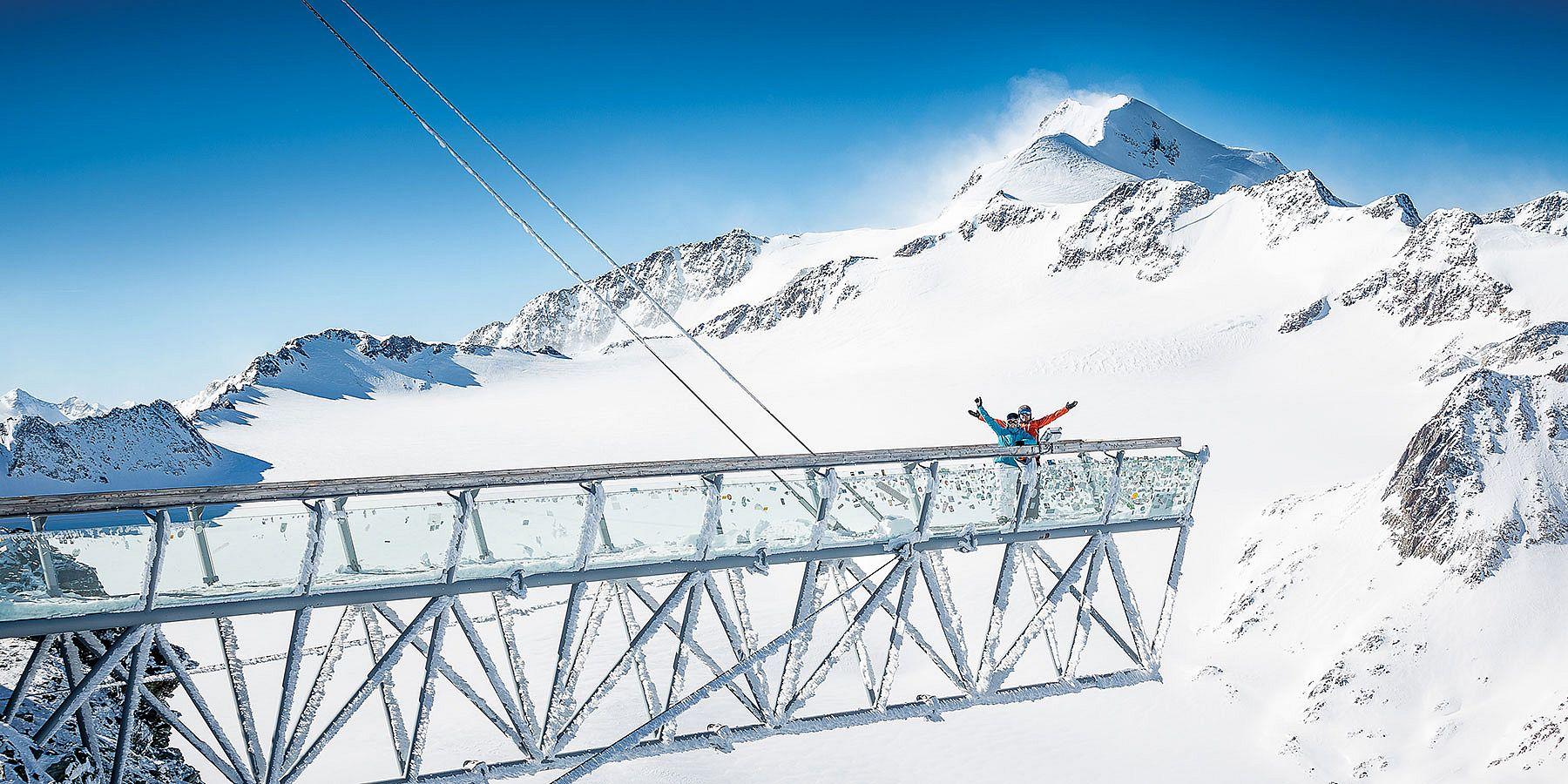 Winterurlaub in Sölden