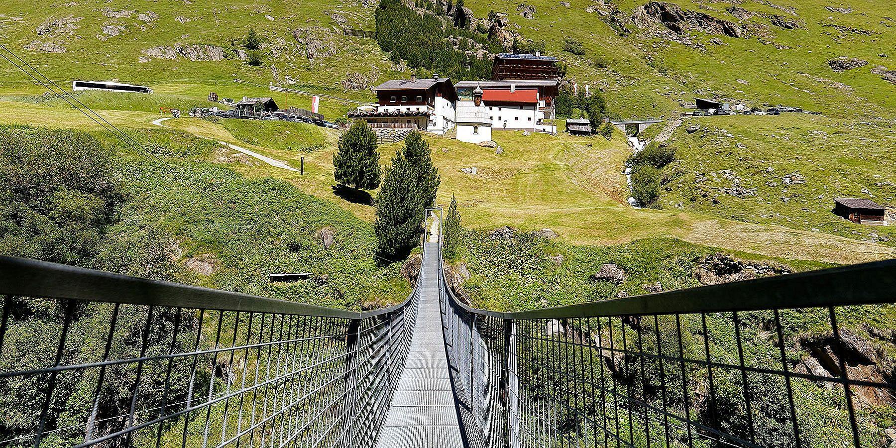 Hängebrücke Rofenhöfe in Vent