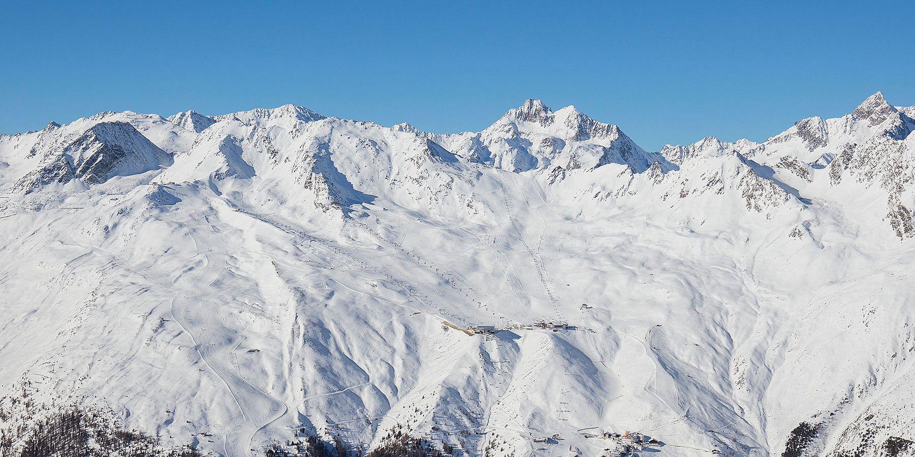 Skigebiet Sölden-Hochsölden